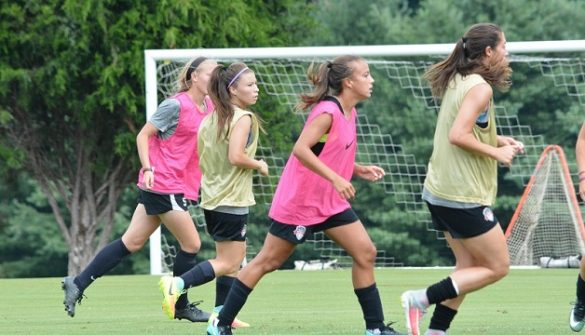 PHOTOS: Spirit prepare to face Houston Dash; Gabby Robinson trains with NWSL squad