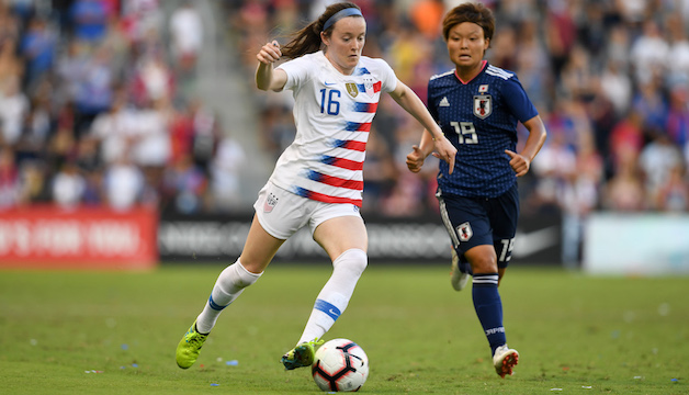 Rose Lavelle earns 9th USWNT c...
