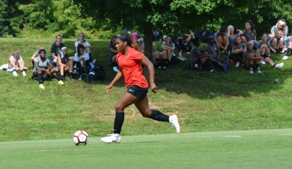 PHOTO GALLERY: Spirit Academy teams attend NWSL training session