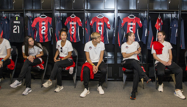 Washington Spirit makes first appearance at Audi Field for ...