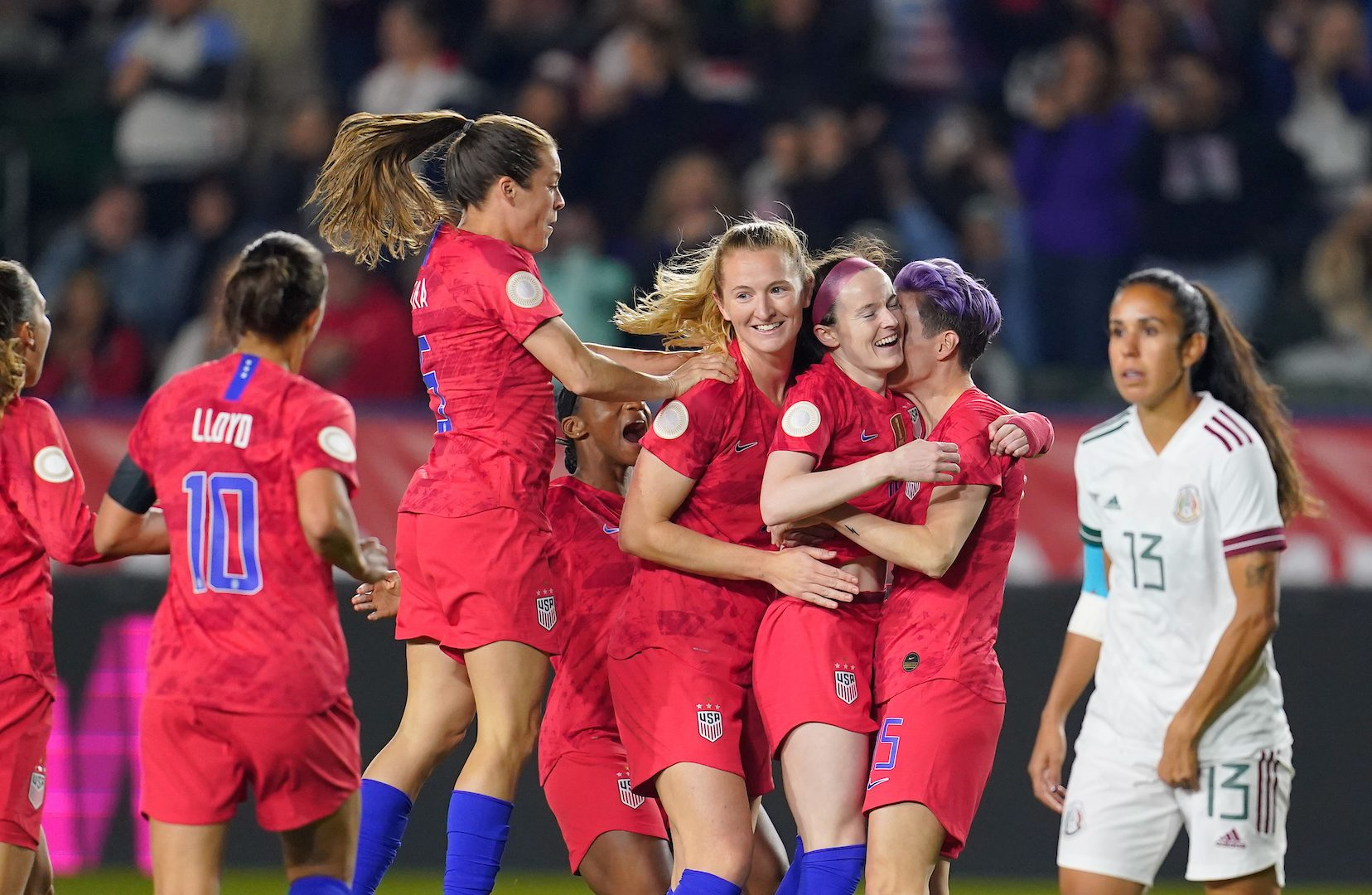 Lavelle scores as USWNT advance to final, qualify for 2020 Tokyo Olympics - Washington Spirit